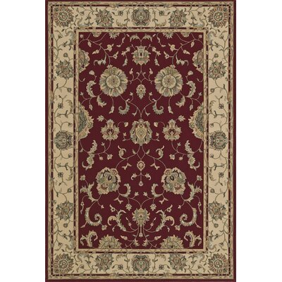 Malta Dalyn Red Area Rug Rug Size: Rectangle 53 x 77