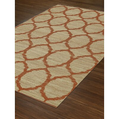 Santiago Dalyn Orange Area Rug Rug Size: 36 x 56