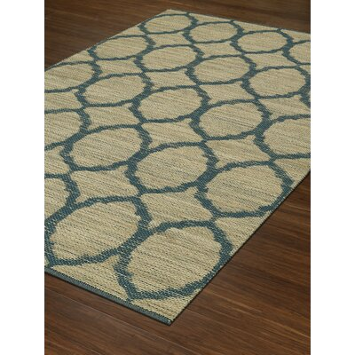 Santiago Dalyn Teal Area Rug Rug Size: Rectangle 36 x 56