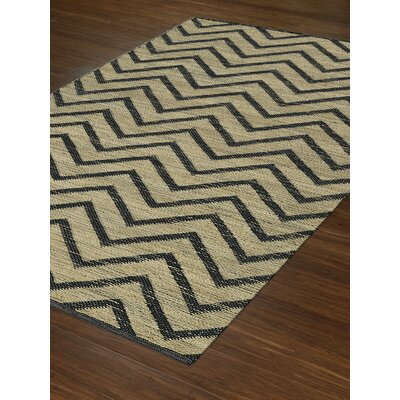 Santiago Dalyn Black Area Rug Rug Size: Rectangle 8 x 10