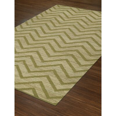 Santiago Dalyn Lime Area Rug Rug Size: Rectangle 36 x 56