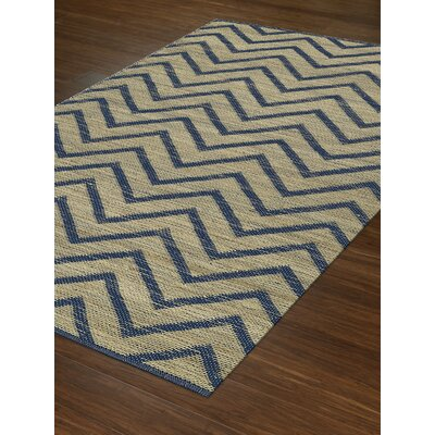 Santiago Dalyn Navy Area Rug Rug Size: Rectangle 36 x 56