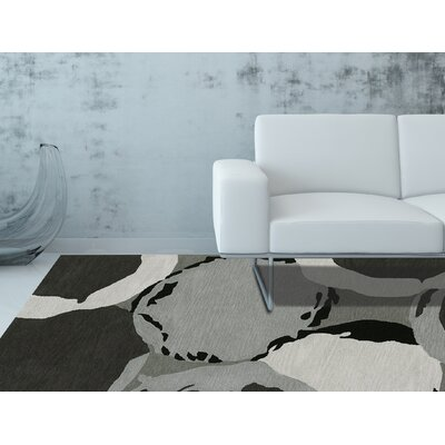 Aloft Dalyn Gray Area Rug Rug Size: Rectangle 3'6