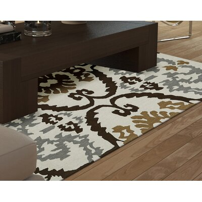 Aloft Dalyn Ivory Area Rug Rug Size: 9 x 13