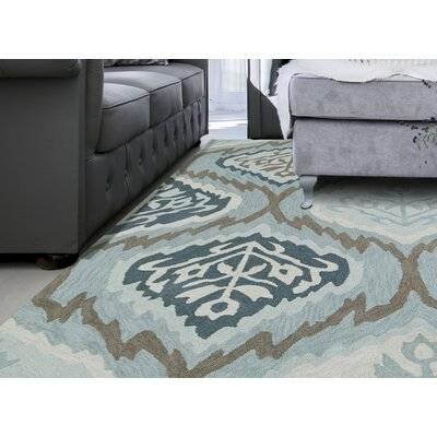 Dinorah Blue Area Rug Rug Size: Rectangle 9 x 13