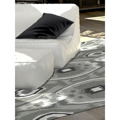 Aloft Dalyn Silver Area Rug Rug Size: 5 x 76
