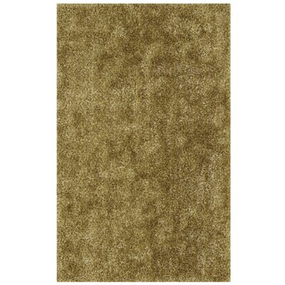 Nan Willow Shag Light Brown/Green Area Rug Rug Size: 9 x 13