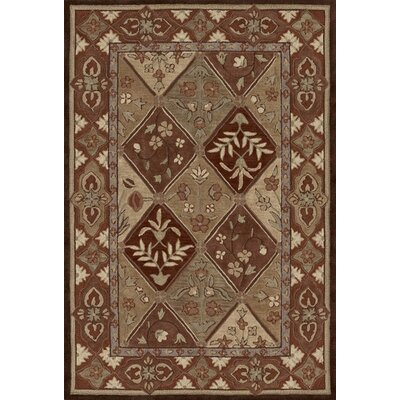 Galleria Chocolate Area Rug Rug Size: 9 x 13