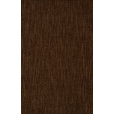 Dionne Chocolate Solid Rug Rug Size: Rectangle 36 x 56