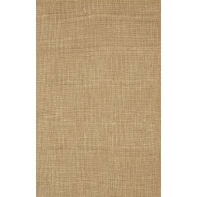 Dionne Sandstone Solid Rug Rug Size: Rectangle 8 x 10