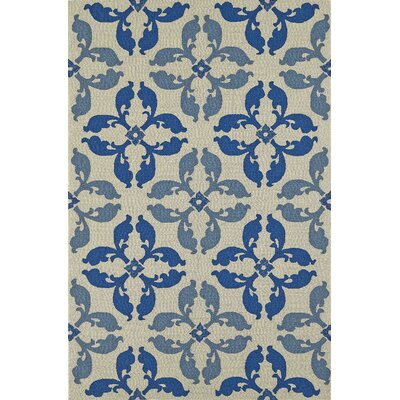 Cabana Hand-Tufted Baltic Indoor/Outdoor Area Rug Rug Size: 36 x 56