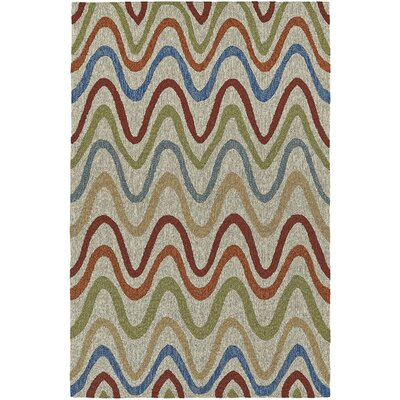 Cabana Hand-Tufted Multi Indoor/Outdoor Area Rug Rug Size: 8 x 10