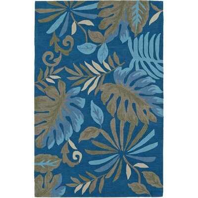 Maui Hand-Tufted Seaglass Area Rug Rug Size: Rectangle 36 x 56