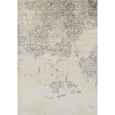 Acahela Pewter Area Rug Rug Size: Rectangle 33 x 51