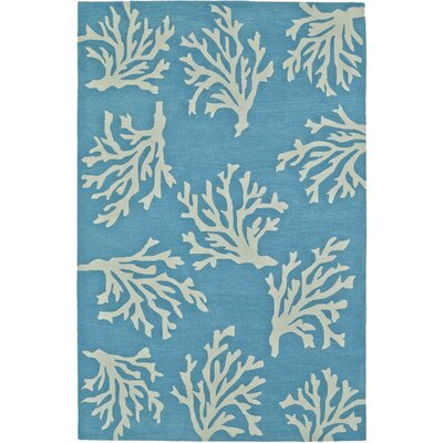Bovina Hand-Tufted Sky Area Rug Rug Size: Rectangle 36 x 56