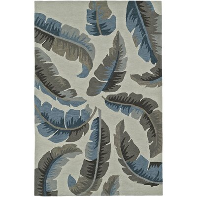 Maui Linen Area Rug Rug Size: Rectangle 36 x 56