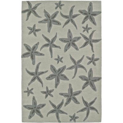 Bovina Hand-Tufted Linen Area Rug Rug Size: Rectangle 5 x 76