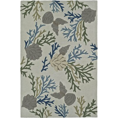 Bovina Hand-Tufted Line Area Rug Rug Size: Rectangle 5 x 76