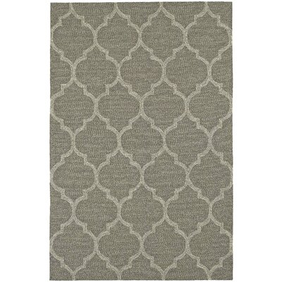 Cabana Hand-Tufted Khaki Indoor/Outdoor Area Rug Rug Size: 9 x 13