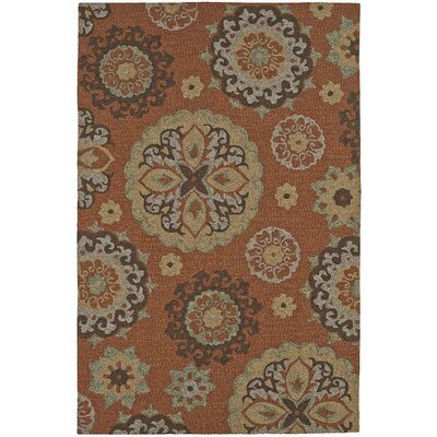 Cabana Hand-Tufted Spice Indoor/Outdoor Area Rug Rug Size: Rectangle 36 x 56
