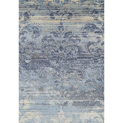 Larkin Denim Area Rug Rug Size: Rectangle 53 x 77