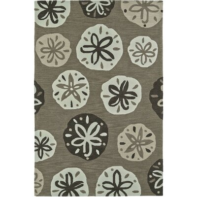 Bovina Hand-Tufted Khaki Area Rug Rug Size: Rectangle 5 x 76