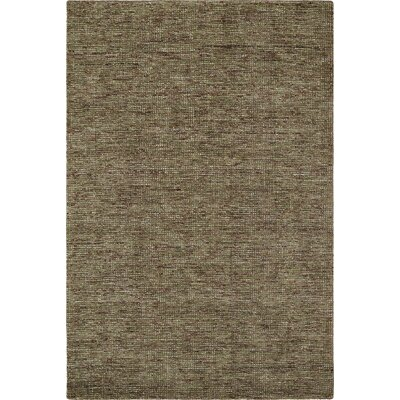 Toro Hand-Loomed Mocha Area Rug Rug Size: Rectangle 36 x 56