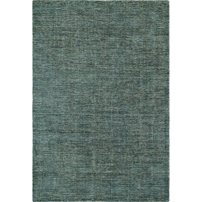 Toro Hand-Loomed Teal Area Rug Rug Size: Rectangle 36 x 56