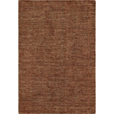 Toro Hand-Loomed Paprika Area Rug Rug Size: Rectangle 8 x 10