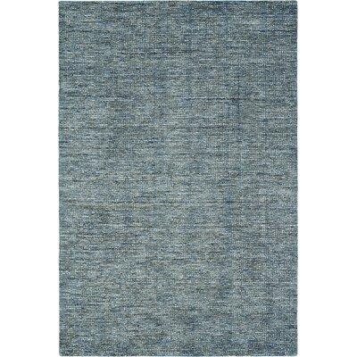 Toro Hand-Loomed Denim Area Rug Rug Size: 36 x 56