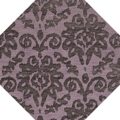Bella Purple Area Rug Rug Size: Octagon 8