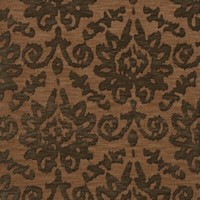 Bella Machine Woven Wool Brown Area Rug Rug Size: Square 4