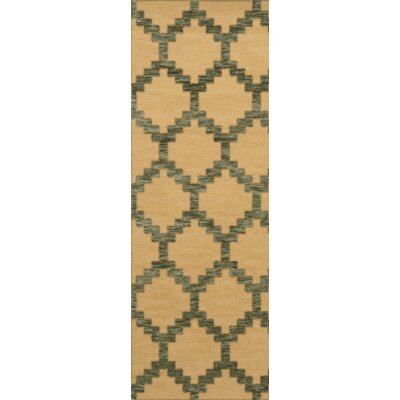 Bella Brown Area Rug Rug Size: Runner 26 x 10
