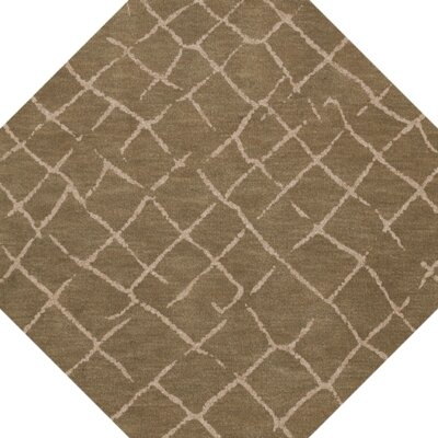 Bella Machine Woven Wool Brown Area Rug Rug Size: Octagon 4