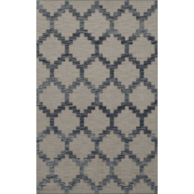 Bella Machine Woven Wool Gray Area Rug Rug Size: Rectangle 10 x 14