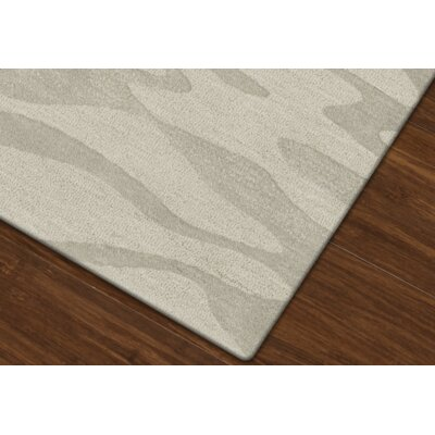 Bella Machine Woven Wool Gray Area Rug Rug Size: Octagon 12
