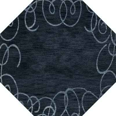 Bella Blue Area Rug Rug Size: Octagon 4