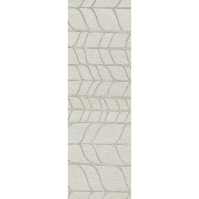 Bella Gray Area Rug Rug Size: Runner 26 x 12