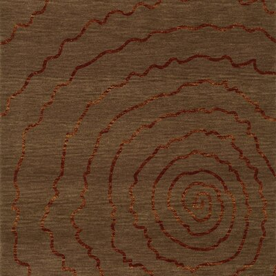 Bella Brown Area Rug Rug Size: Square 12'
