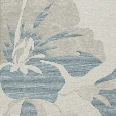 Bella Blue Area Rug Rug Size: Square 4