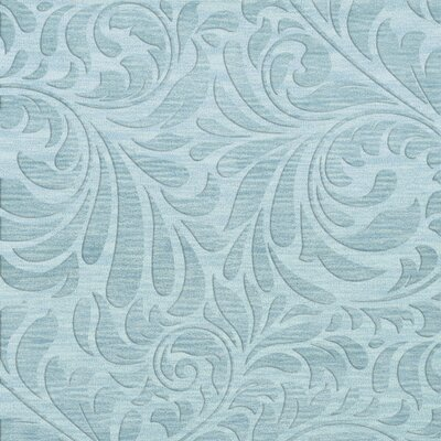 Bella Machine Woven Wool Blue Area Rug Rug Size: Square 8