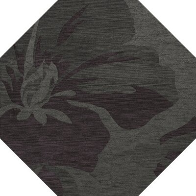 Bella Gray Area Rug Rug Size: Octagon 12