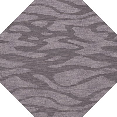 Bella Purple Area Rug Rug Size: Octagon 6