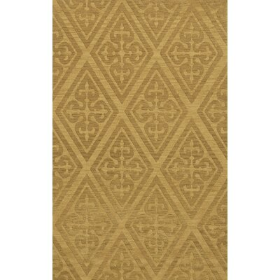 Bella Machine Woven Wool Beige Area Rug Rug Size: Rectangle 4 x 6