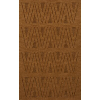 Bella Machine Woven Wool Brown Area Rug Rug Size: Rectangle 10 x 14