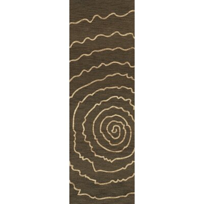 Bella Brown Area Rug Rug Size: Runner 26 x 12
