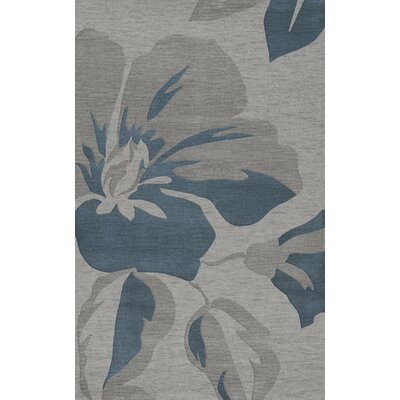 Bella Gray Area Rug Rug Size: Rectangle 3' x 5'