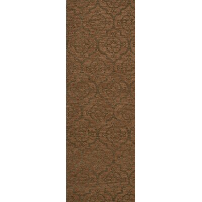 Bella Brown Area Rug Rug Size: Runner 26 x 8