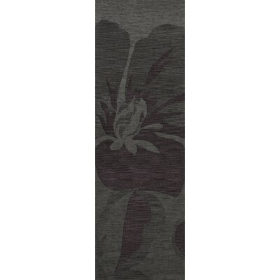 Bella Gray Area Rug Rug Size: Runner 26 x 8