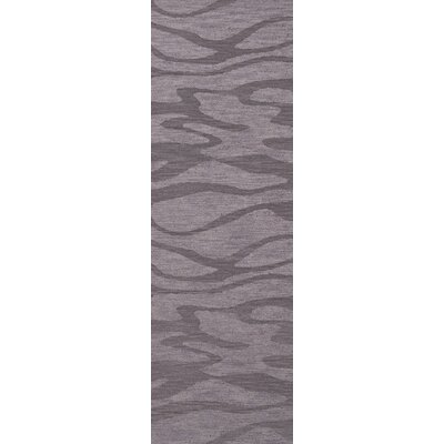 Bella Purple Area Rug Rug Size: Runner 26 x 10